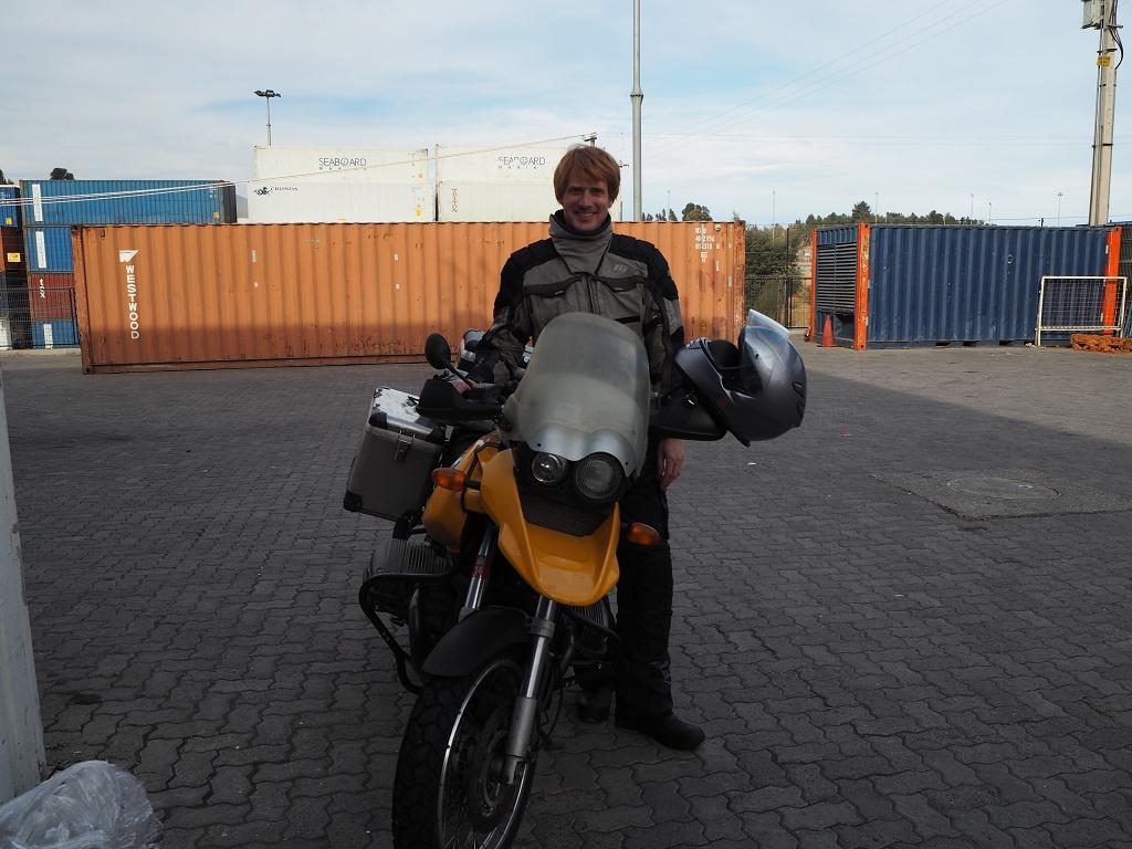 Lager Motorradimport - Chile 2015